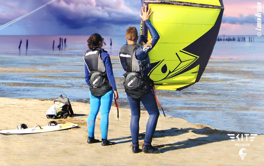 Prendre des cours de kitesurf Sète Montpellier