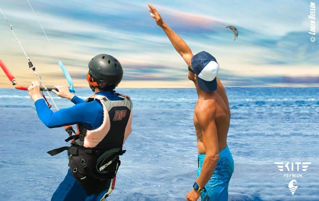 Cours particulier kitesurf VIP à Montpellier Sète