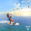 Kitesurf navigation surveillée kitesurf en fin de stage Montpellier Sète