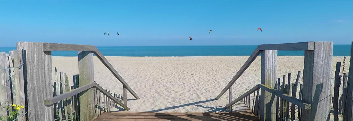 spot de kitesurf plage des 3 digues